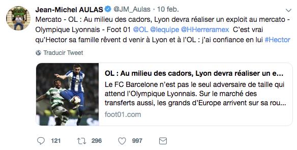 Héctor Herrera llegaría al Lyon