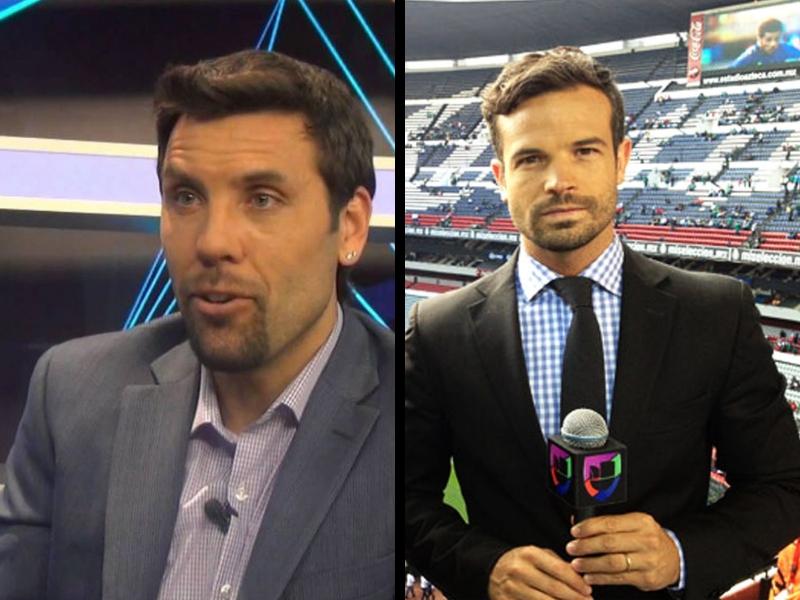 Los ex futbolistas que dejaron la TV para regresar a la cancha