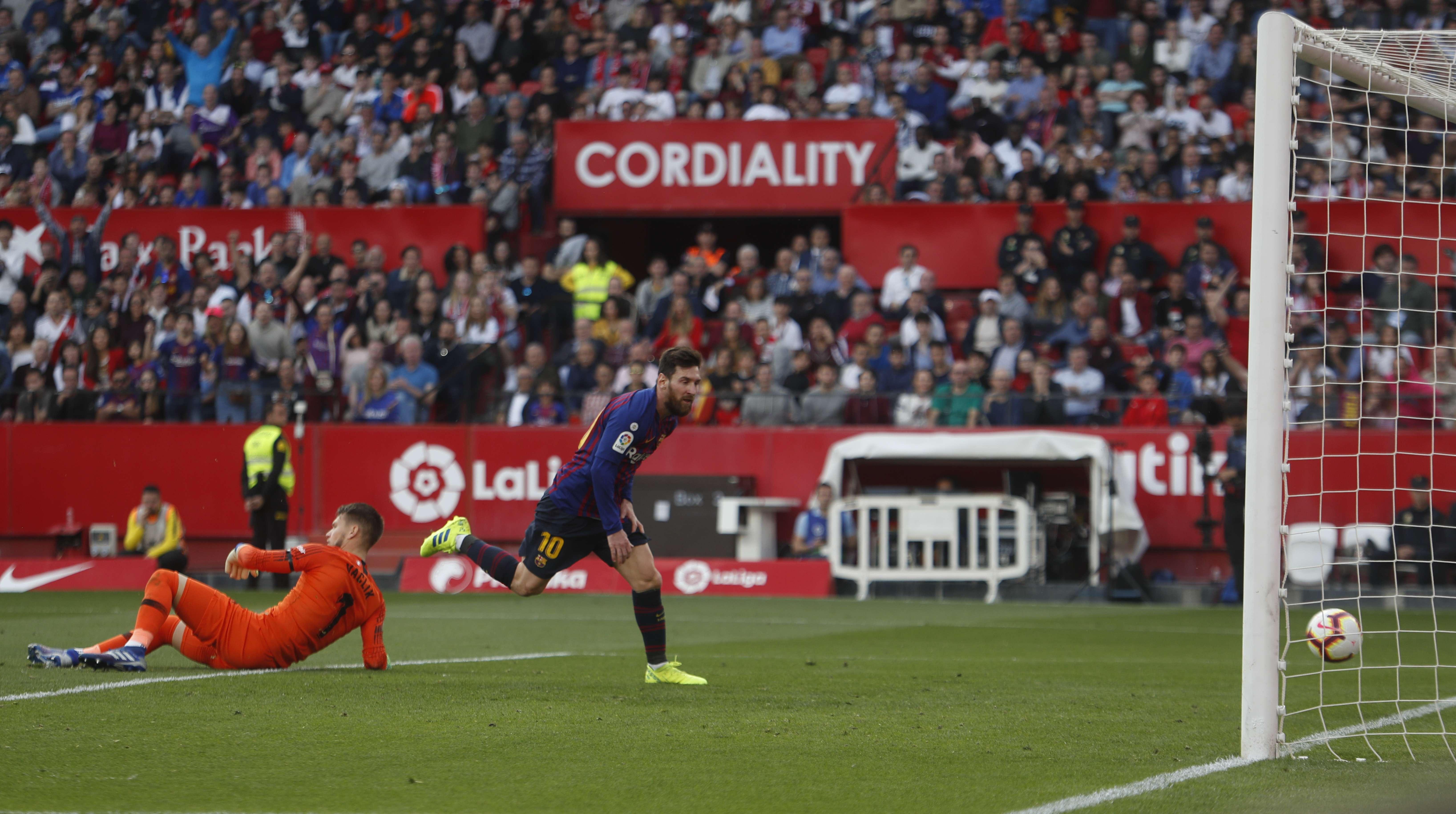 Messi recupera su forma antes de duelos ante Real Madrid