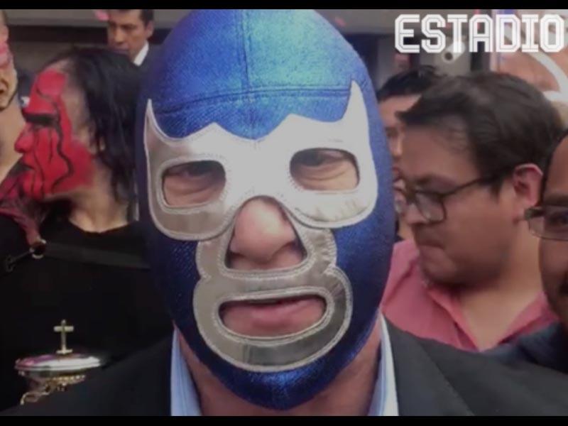 Blue Demon Jr. habla sobre el cambio de Triple A a Tv Azteca