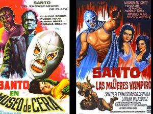 El Santo y sus pósters mas representativos del cine