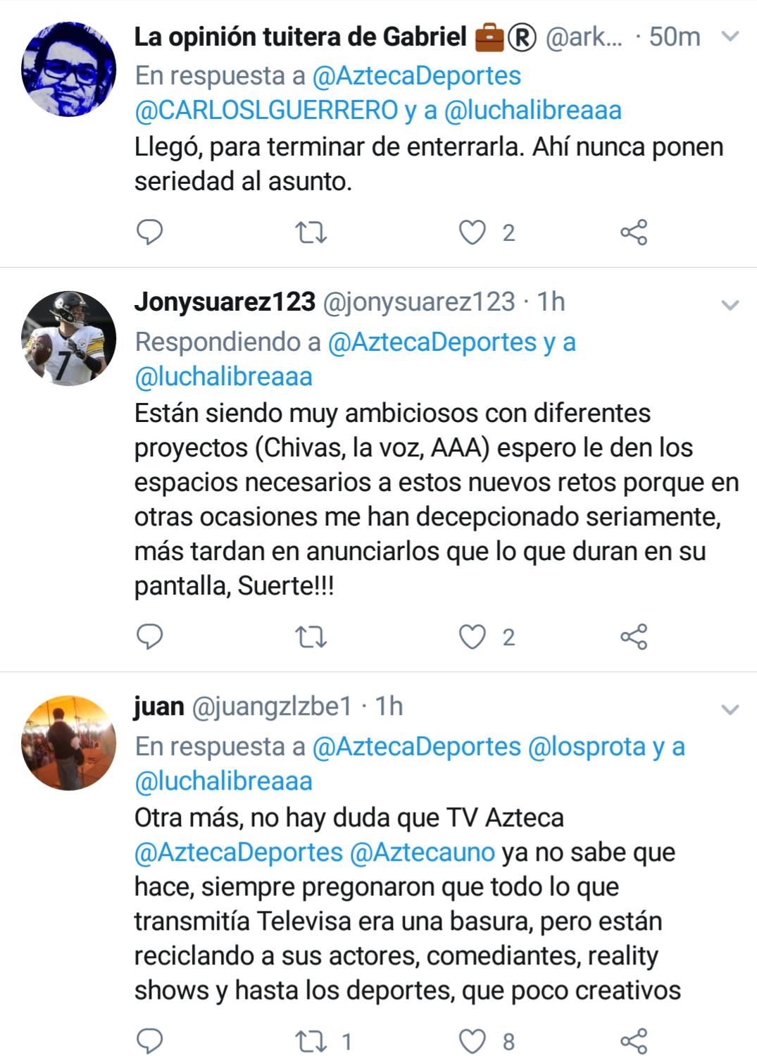 Tv Azteca y Triple AAA