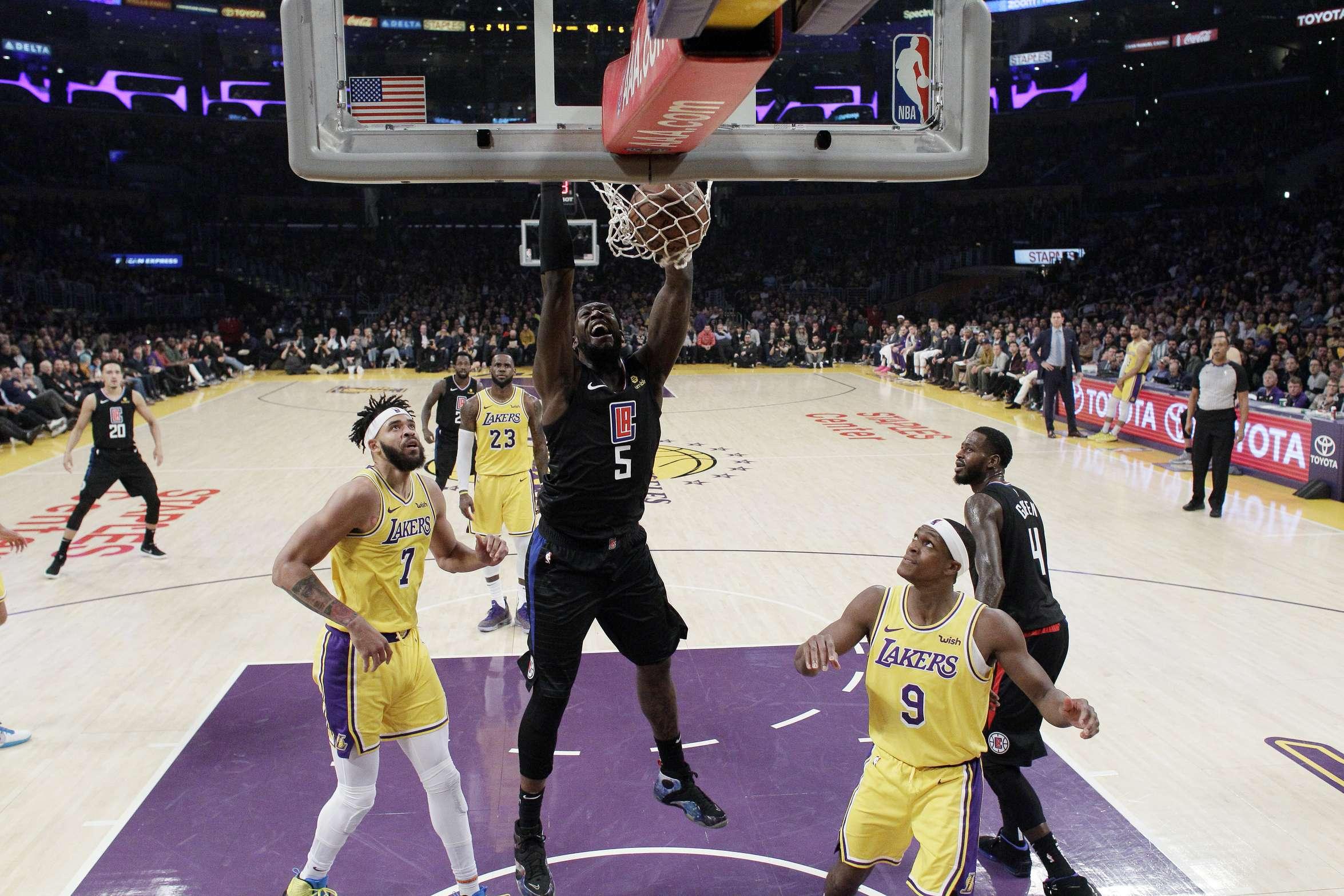 Gallinari guía a Clippers en victoria sobre Lakers en caída 0472f4352b2