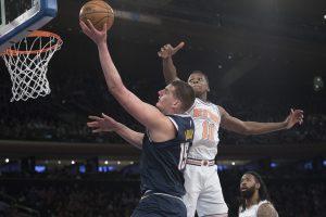 Nuggets vence a Knicks para su 6to triunfo consecutivo