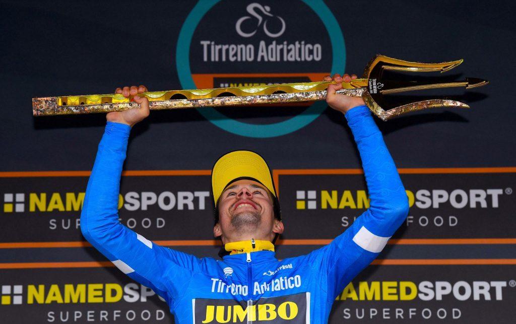Esloveno Roglic gana la Tirreno-Adriático en gran remontada