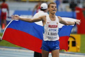 Campeón ruso de marcha pierde título mundial por dopaje