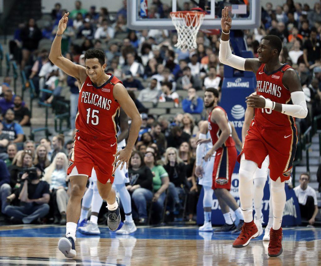 Pelicans ganan a Dallas y opacan histórica noche de Nowitzki