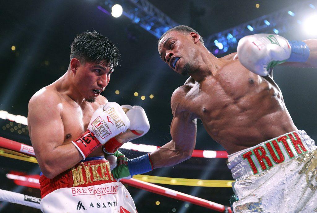 Spence defiende el cinturón del peso wélter ante García