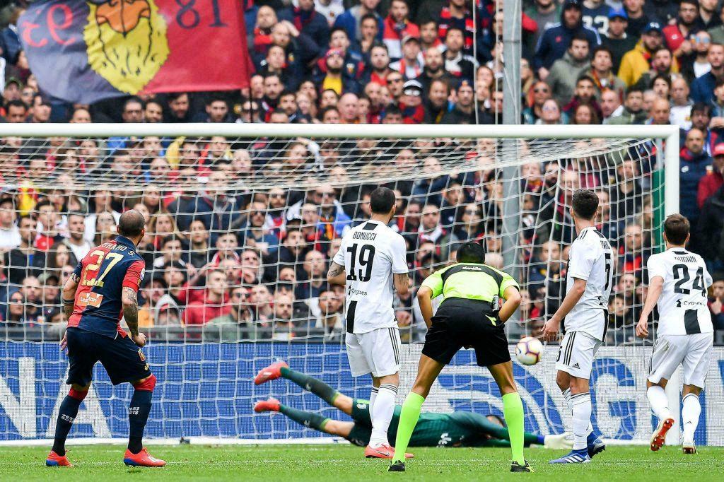 Sin Cristiano Ronaldo, la Juventus cae 2-0 ante Genoa
