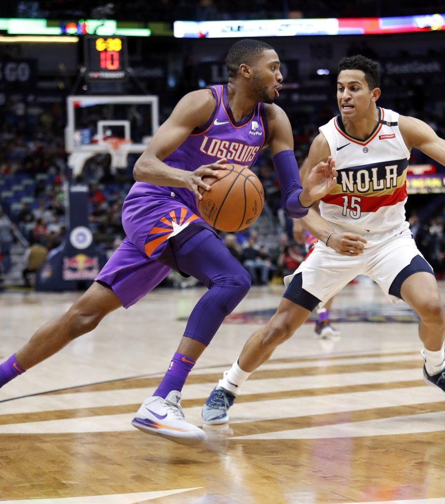 Suns derrotan a Pelicans en tiempo extra, 138-136
