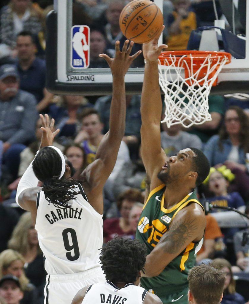 Con ofensiva de Mitchell y Gobert, Jazz gana 114-98 a Nets