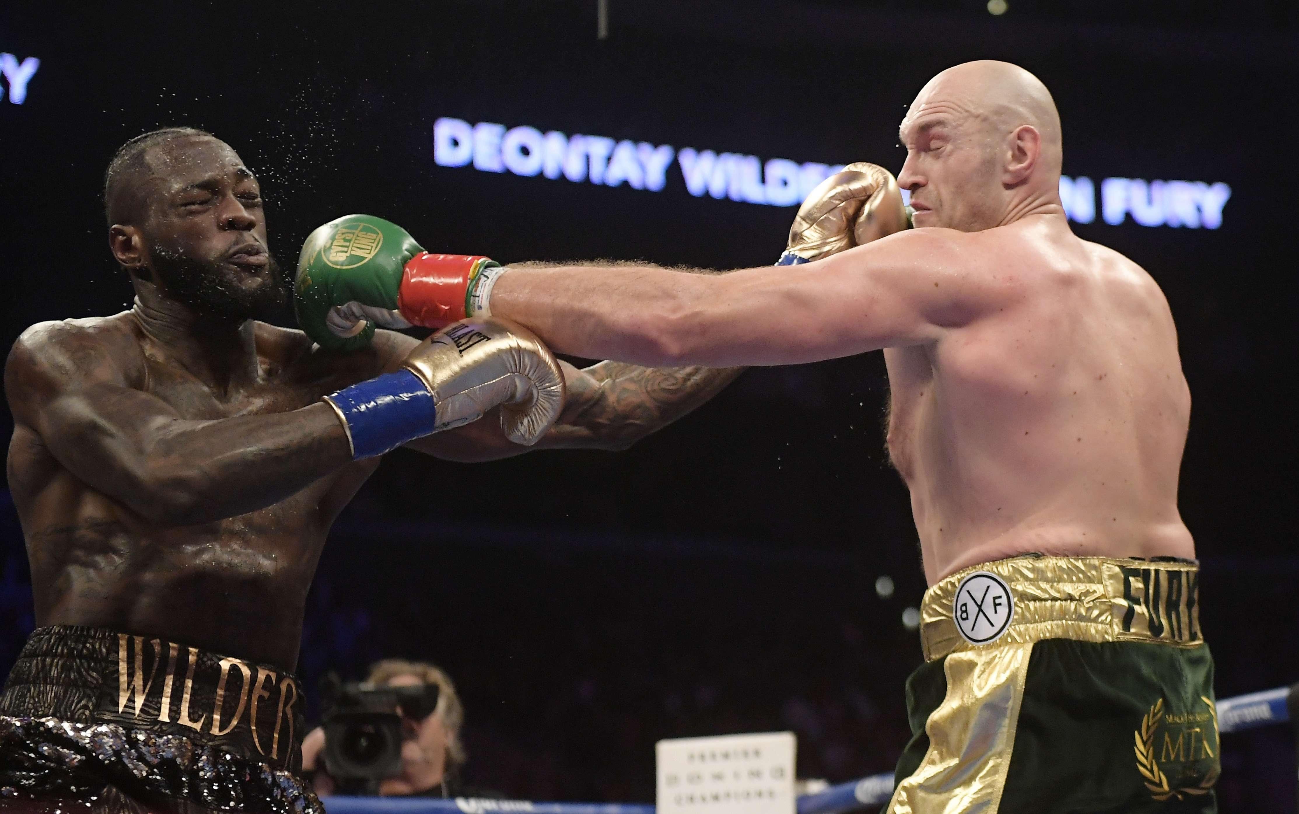 CMB: Cancelada por ahora, 2da pelea Wilder-Fury