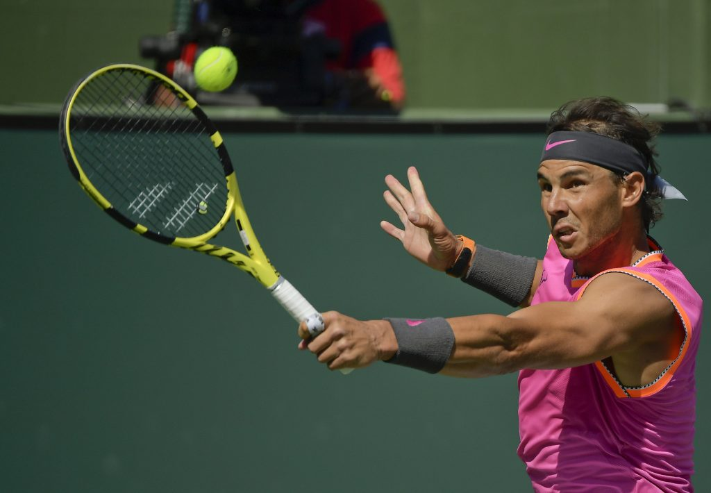Nadal se retira de Indian Wells por lesión