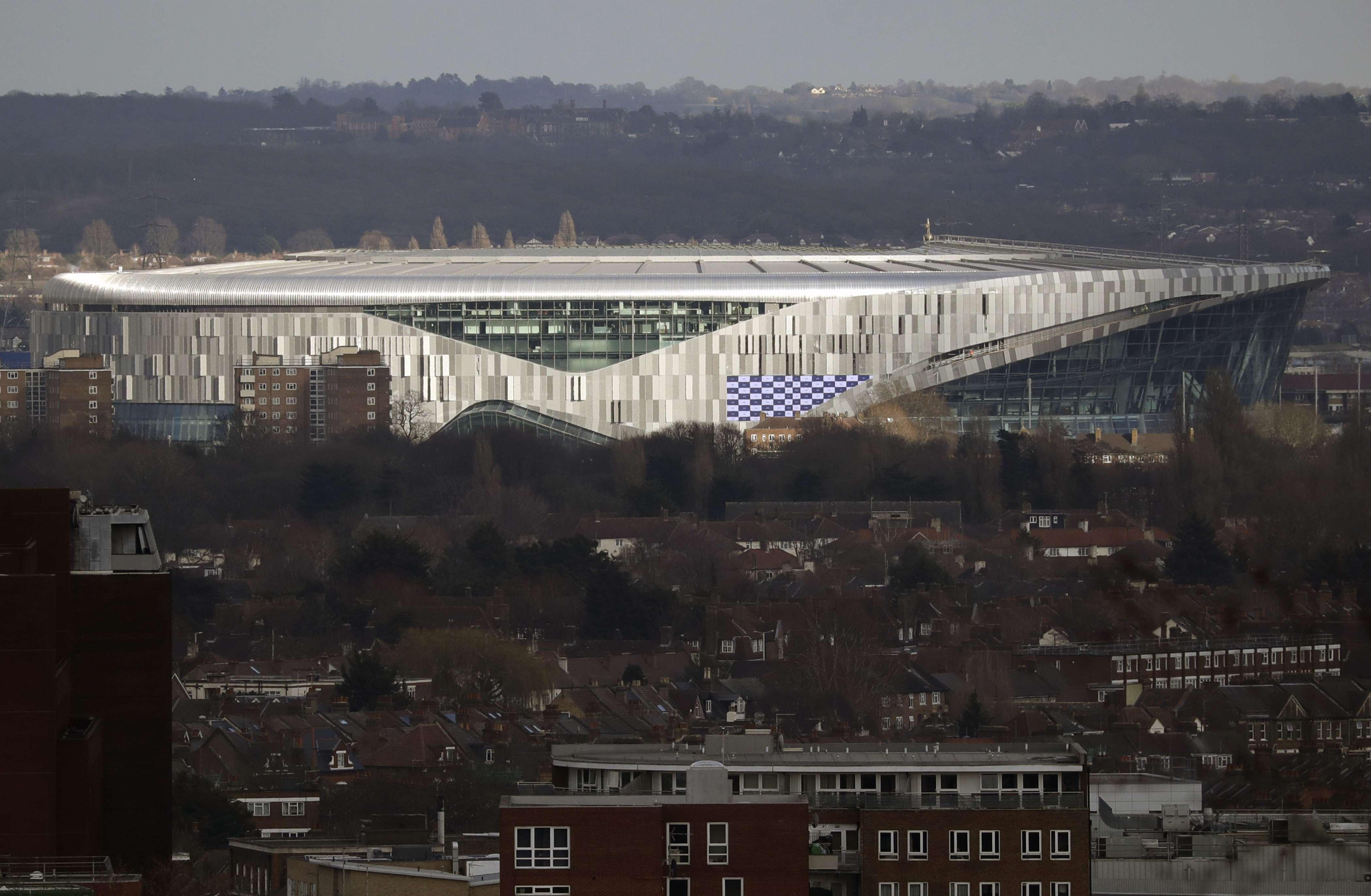 Tottenham se mudará a nuevo estadio a inicios de abril