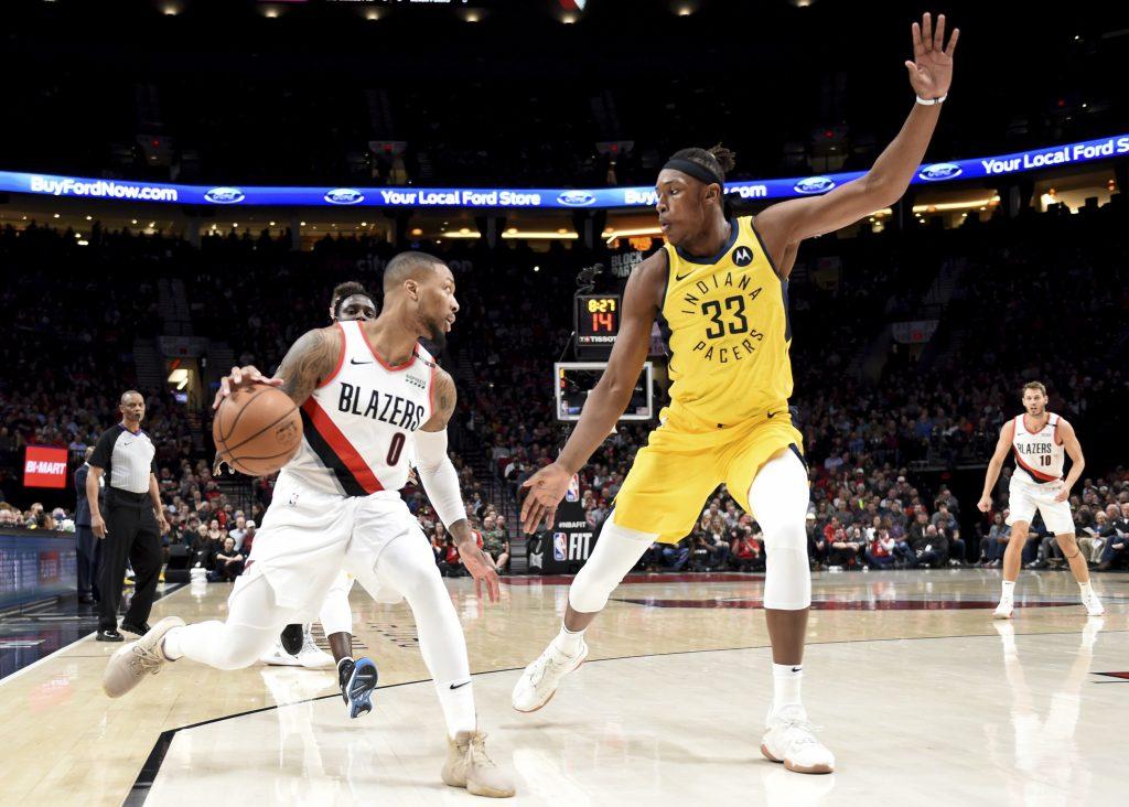 Blazers evitan pase de Pacers a playoffs con triunfo 106-98