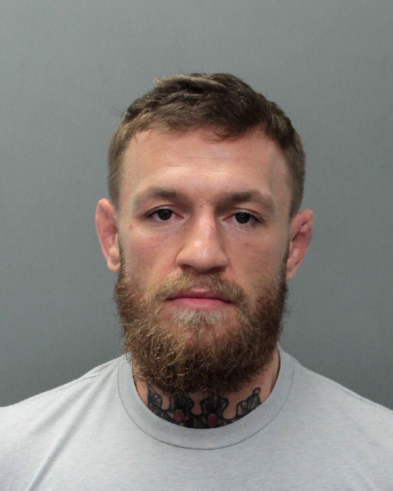 Arrestan a Conor McGregor por altercado en Florida