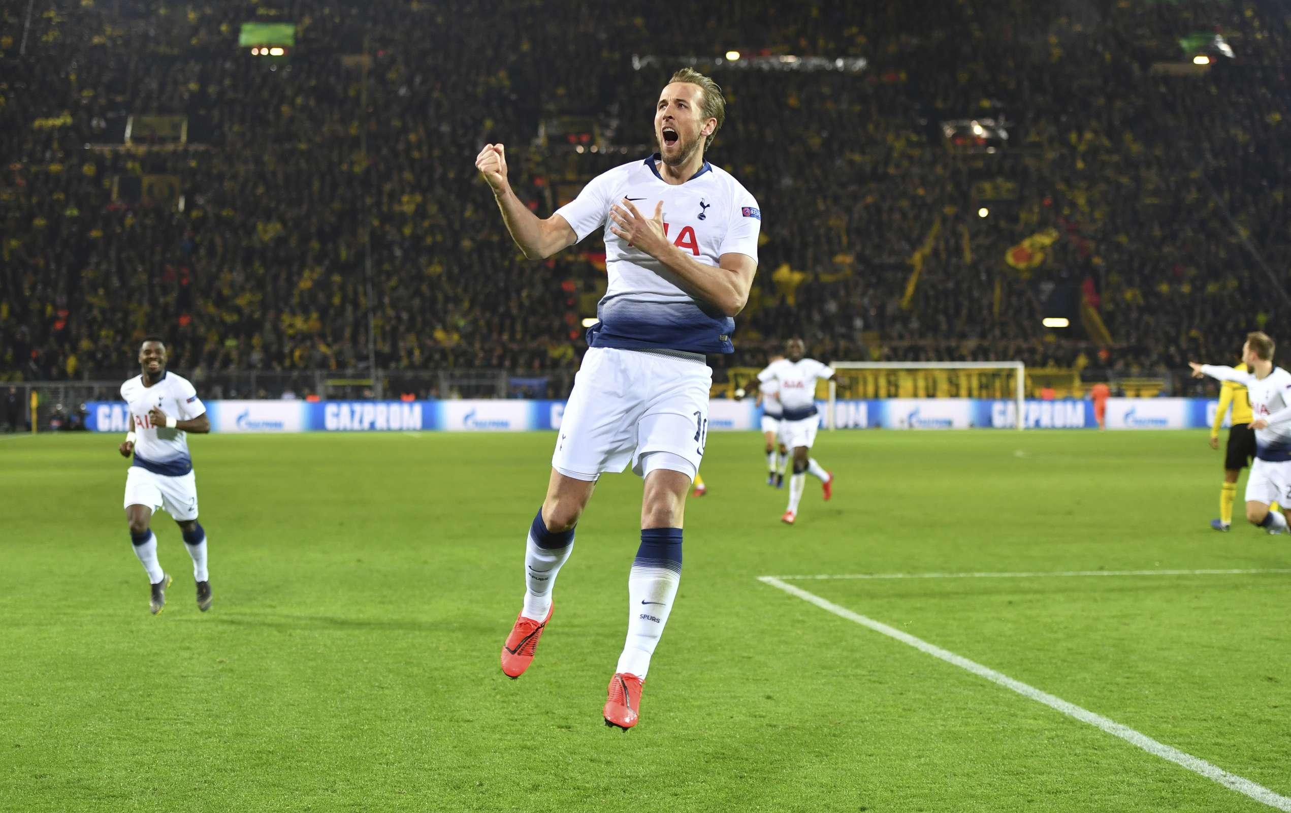 Tottenham vence a Dortmund y está en cuartos de 'Champions'