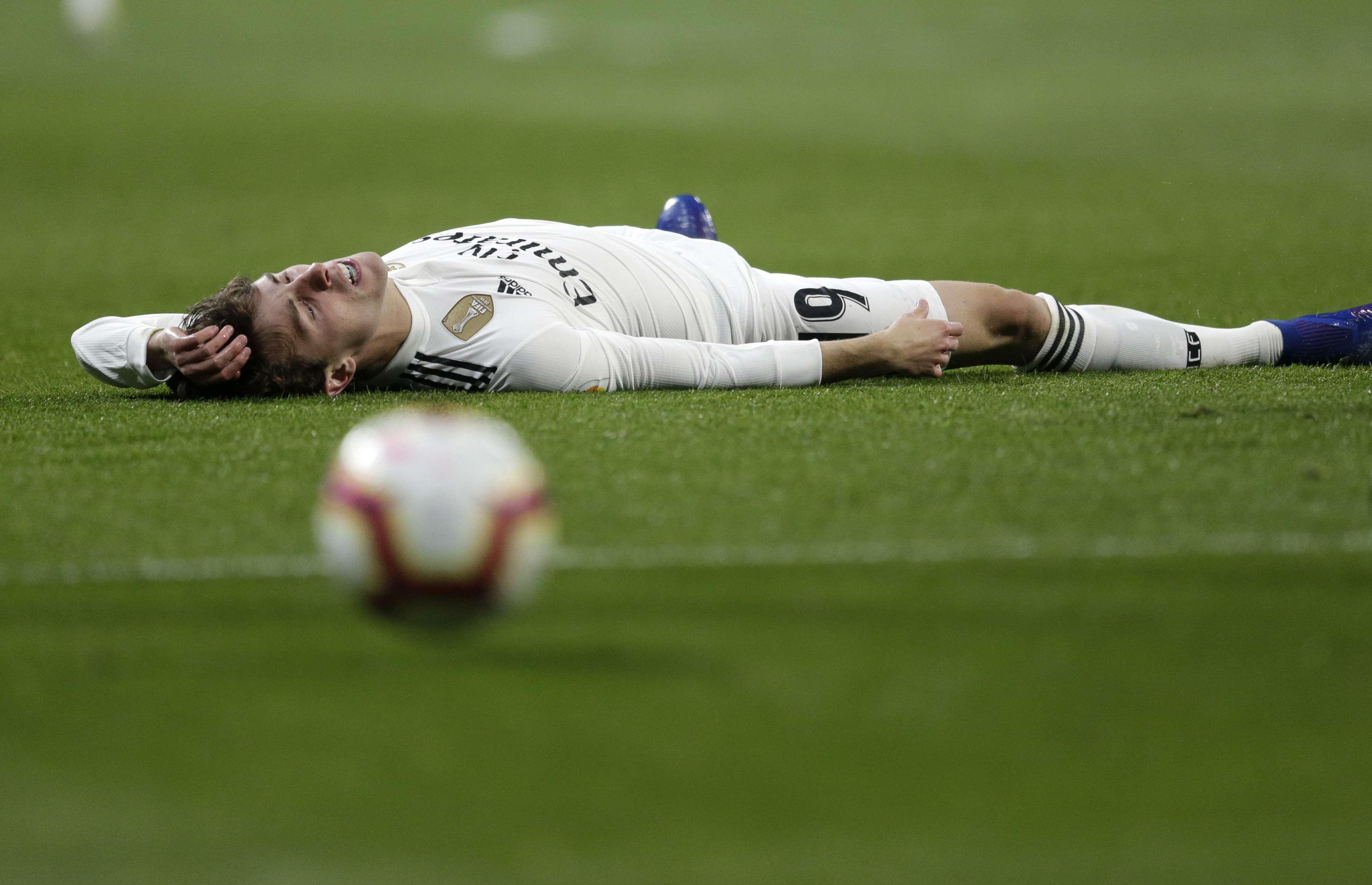 Real Madrid: Odriozola se perdería resto de temporada