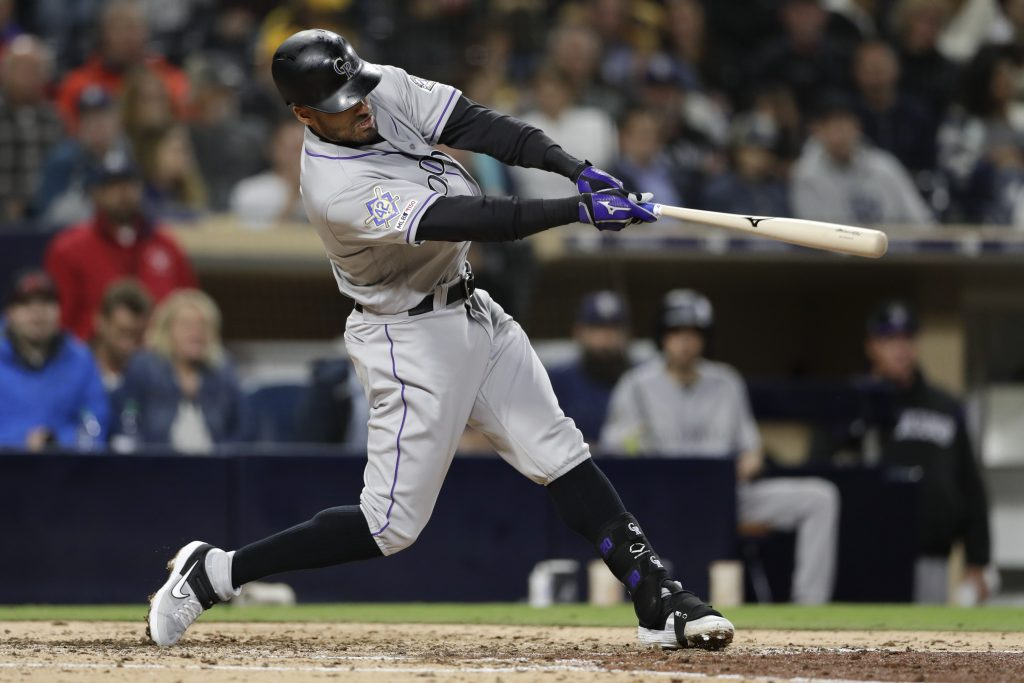 Desmond, Arenado homer to help Rockies beat Padres 5-2