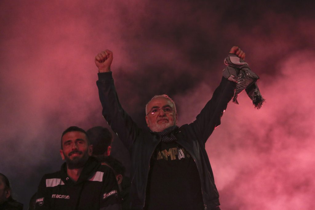 Respaldado por magnate ruso, PAOK festeja en Grecia