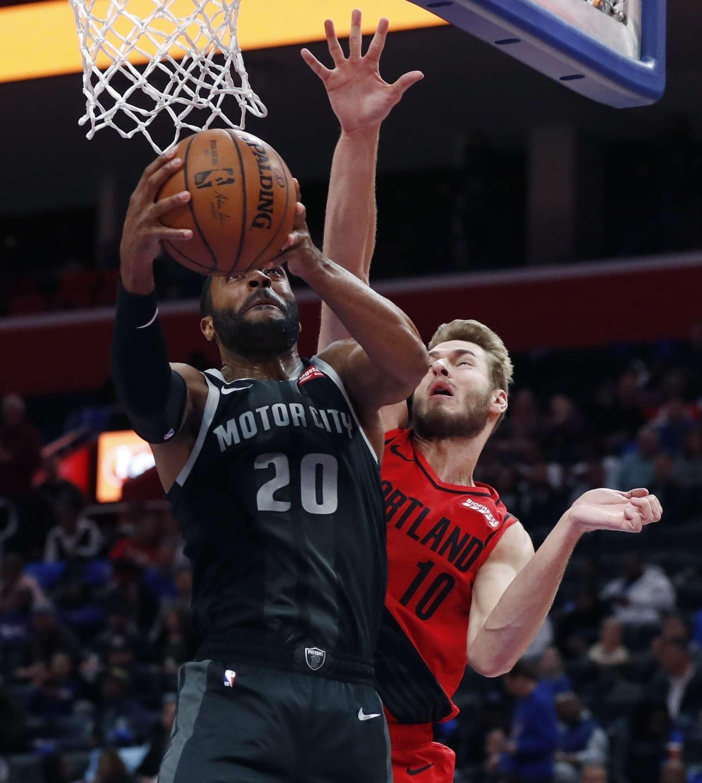 Pistons Ponen Fin A Racha De 6 Victorias De Blazers