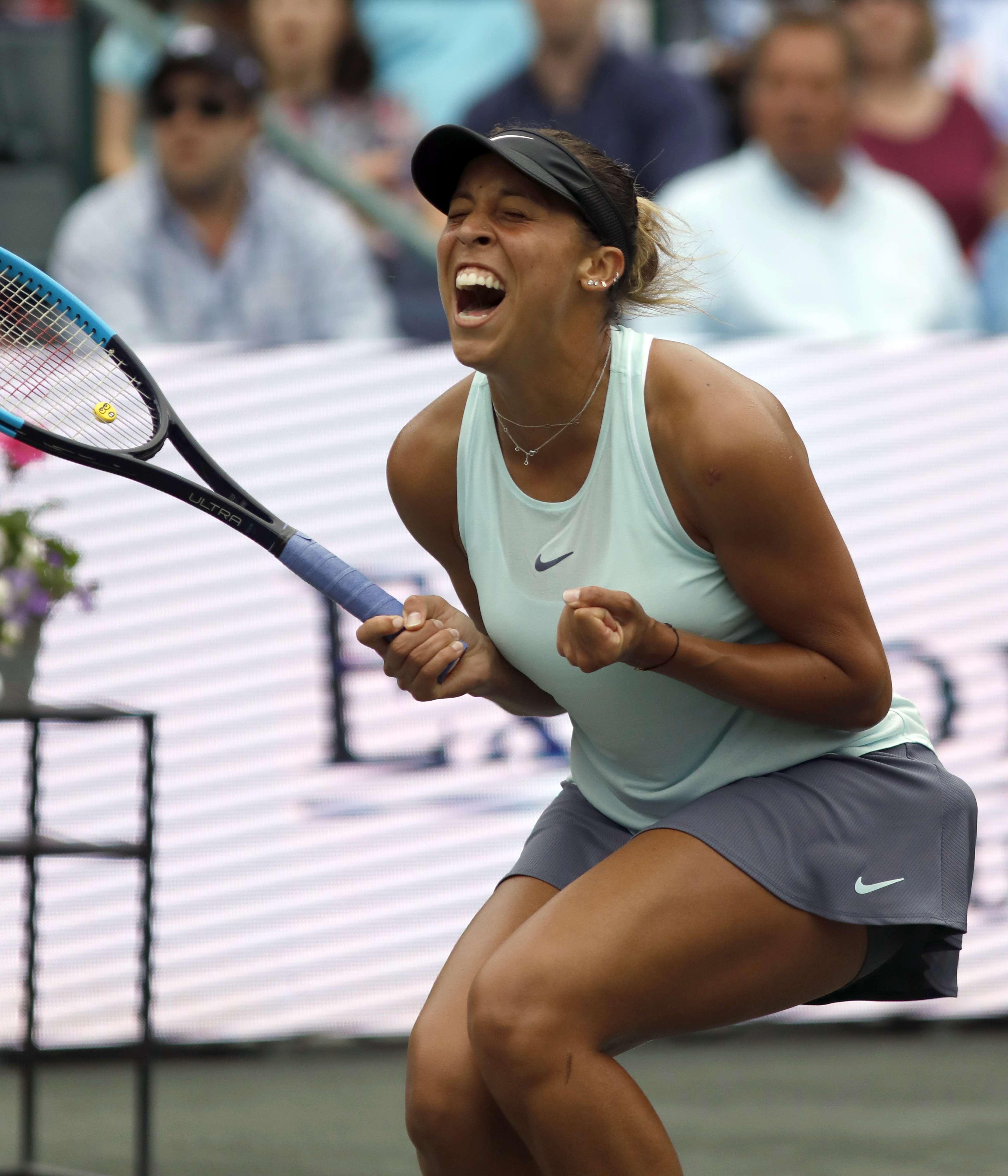 Madison Keys vence a Wozniacki y se corona en Charleston
