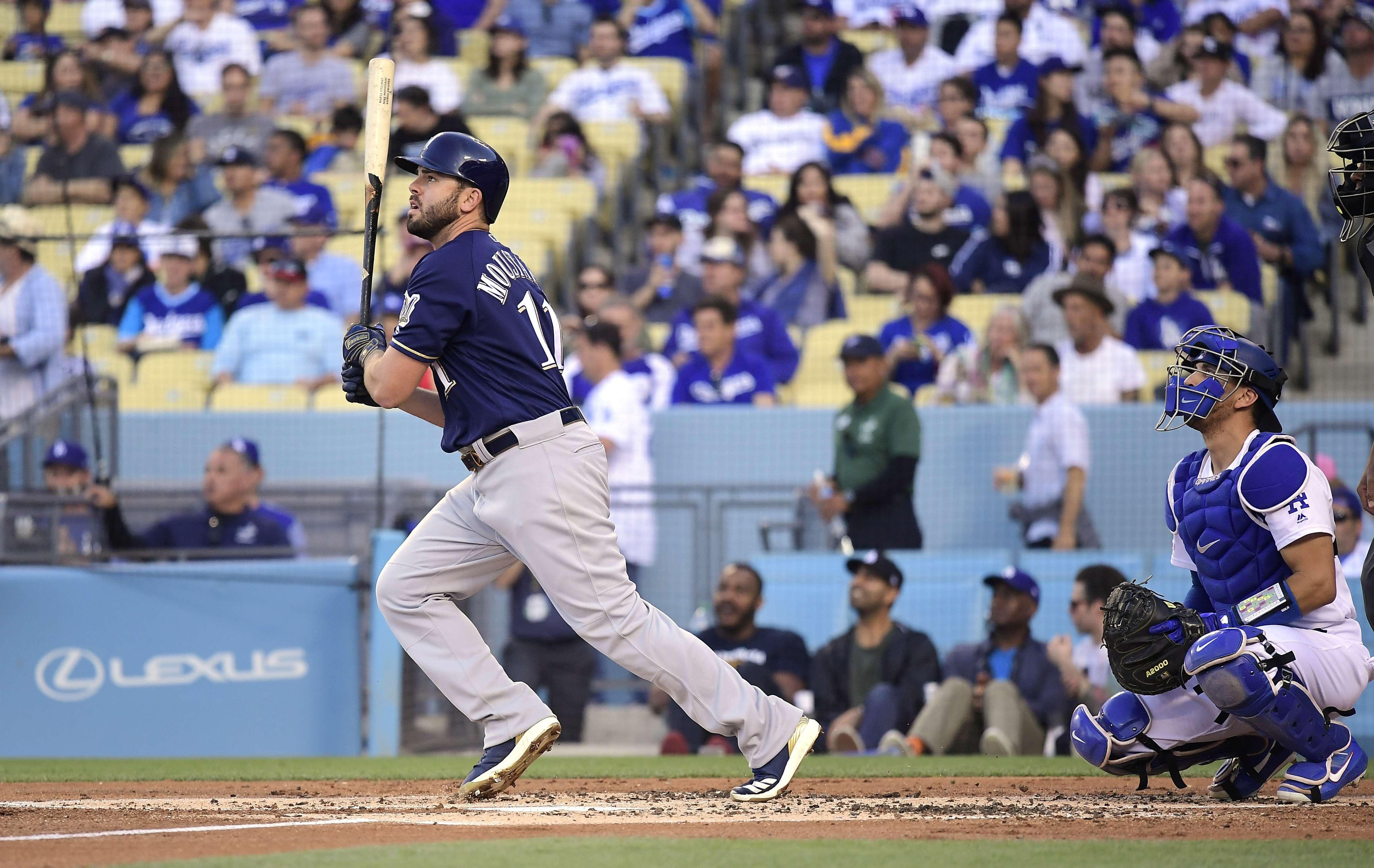 Los Cerveceros asestan a los Dodgers su 6ta derrota seguida