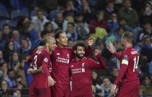 Liverpool repite en semifinales tras golear 4-1 a Porto
