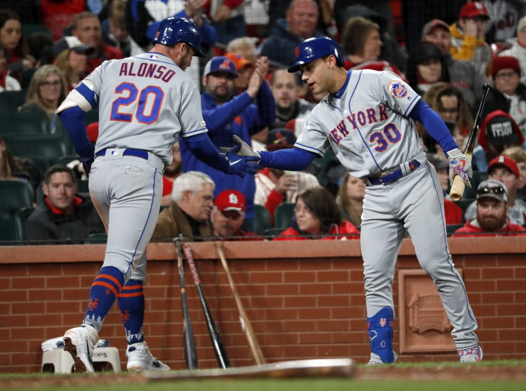 Alonso, Canó guían triunfo de los  Mets sobre los Cardenales