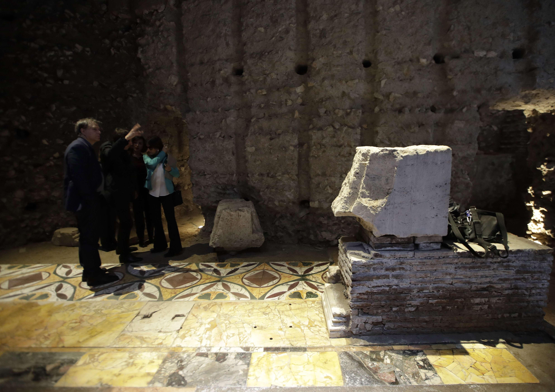 Reabren al público el primer palacio imperial de Nerón