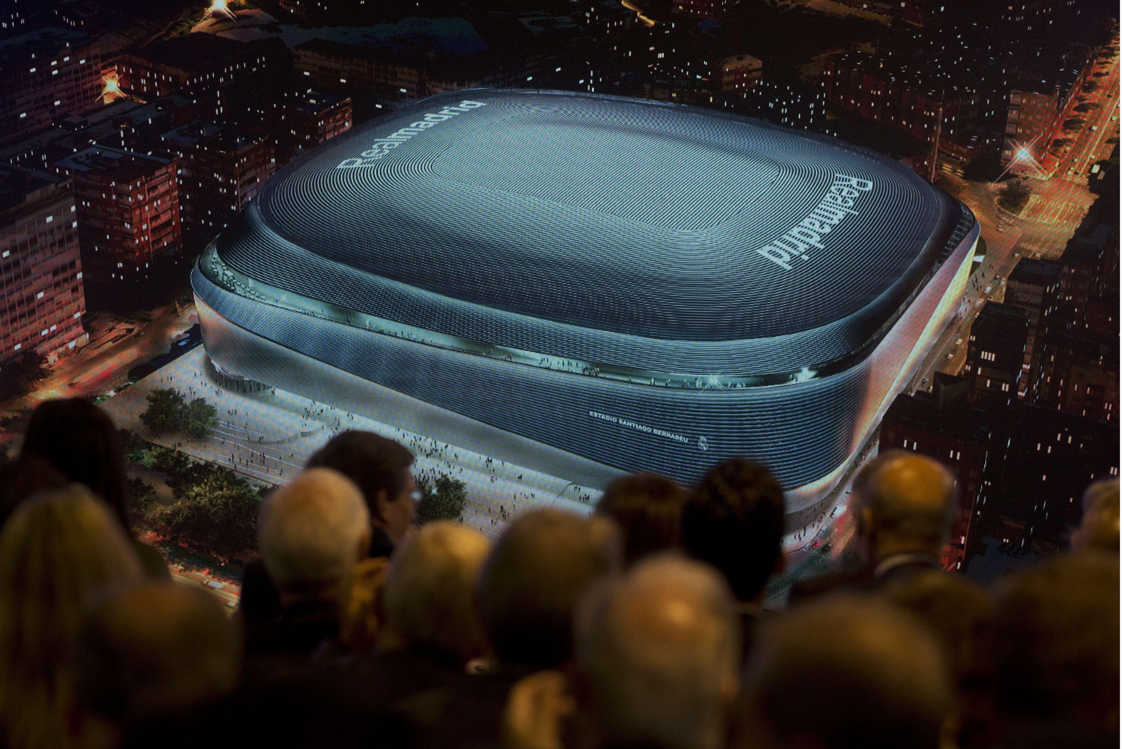 Real Madrid obtiene fondos para remodelación del Bernabéu