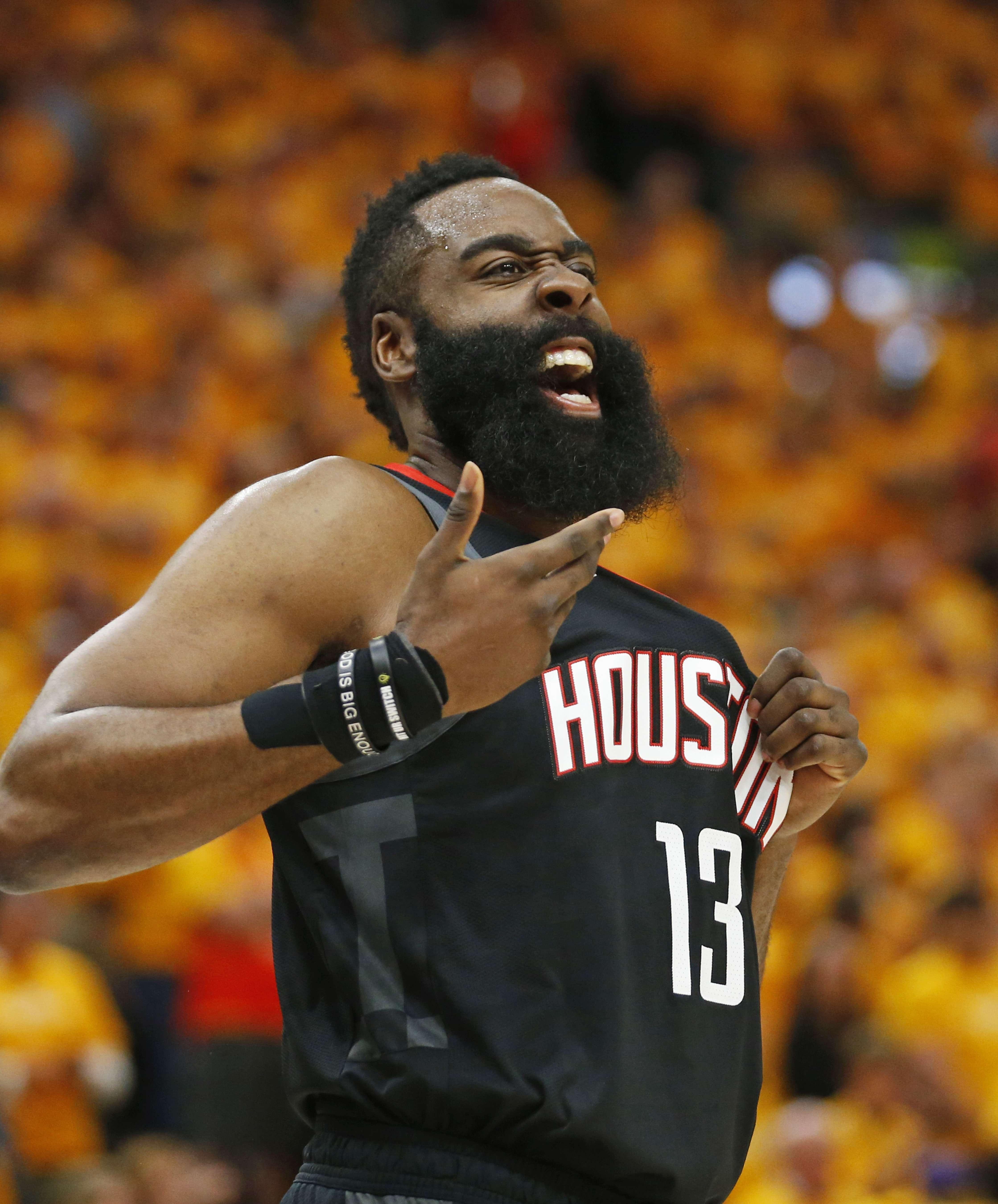 James Harden Vs Jazz: Rockets Derrotan Al Jazz 104-101, Lideran Su Serie 3-0