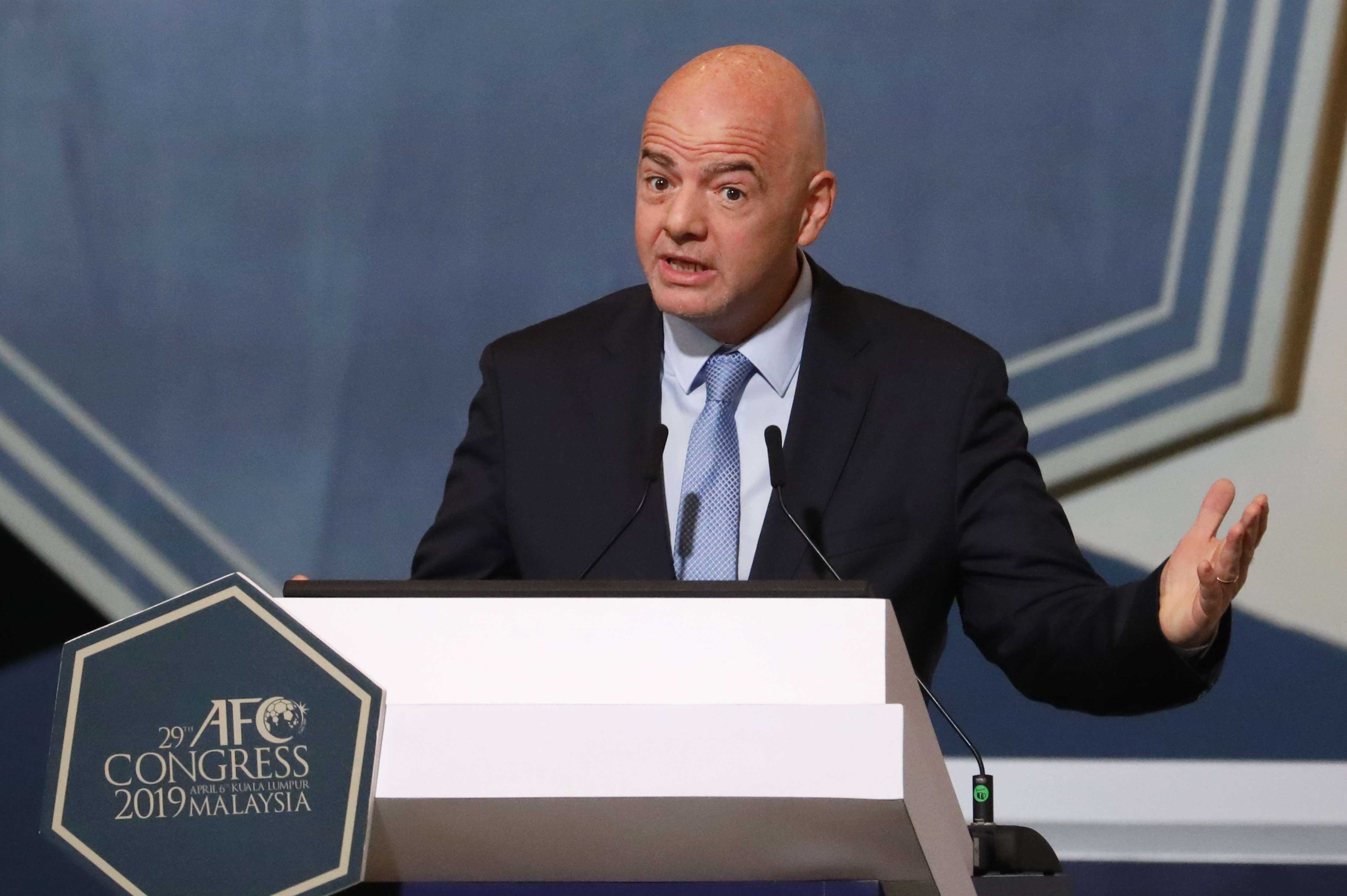 FIFA: Infantino pide abandonar partidos en casos de racismo