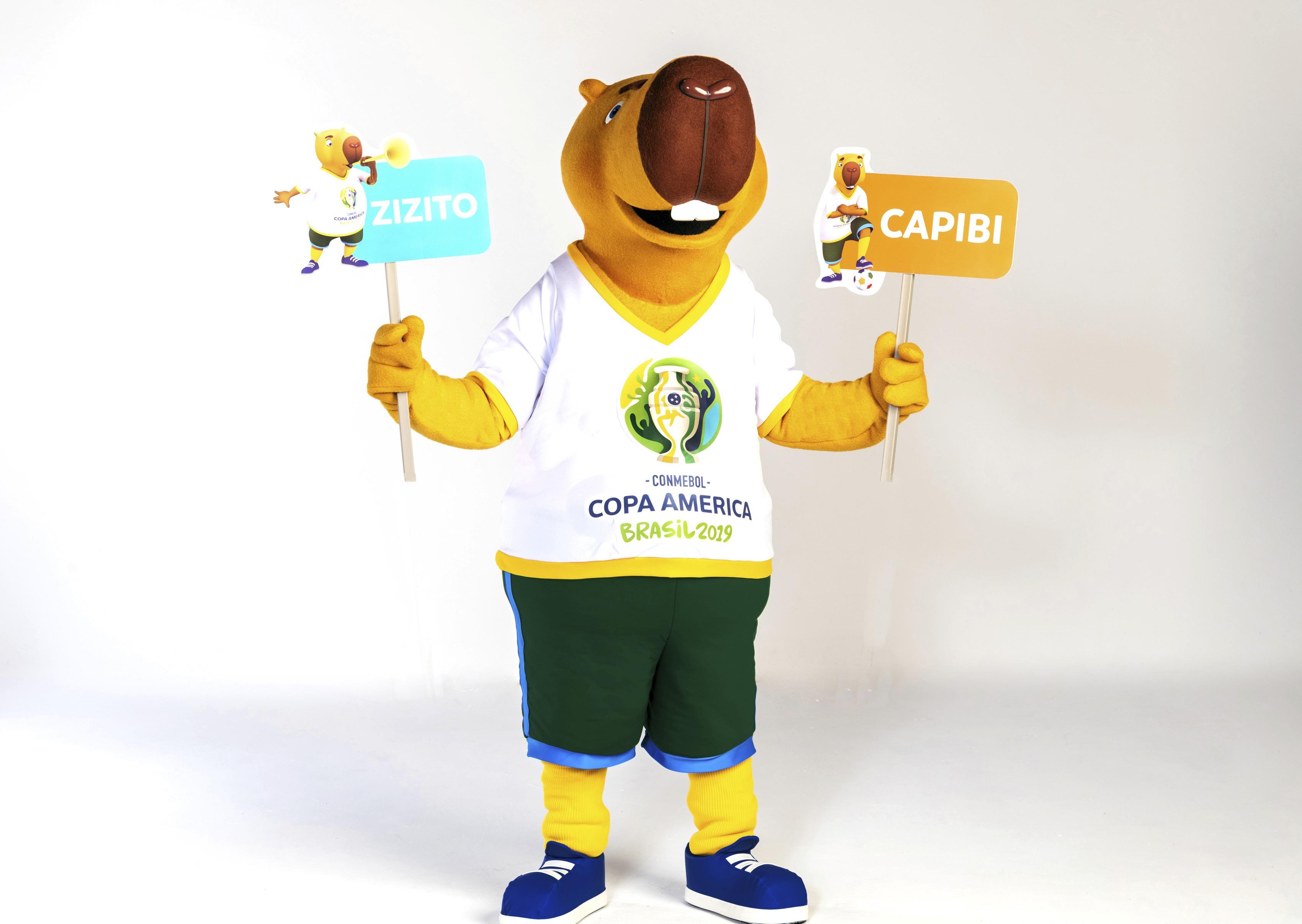 Zizito, el nombre de la mascota de la Copa América