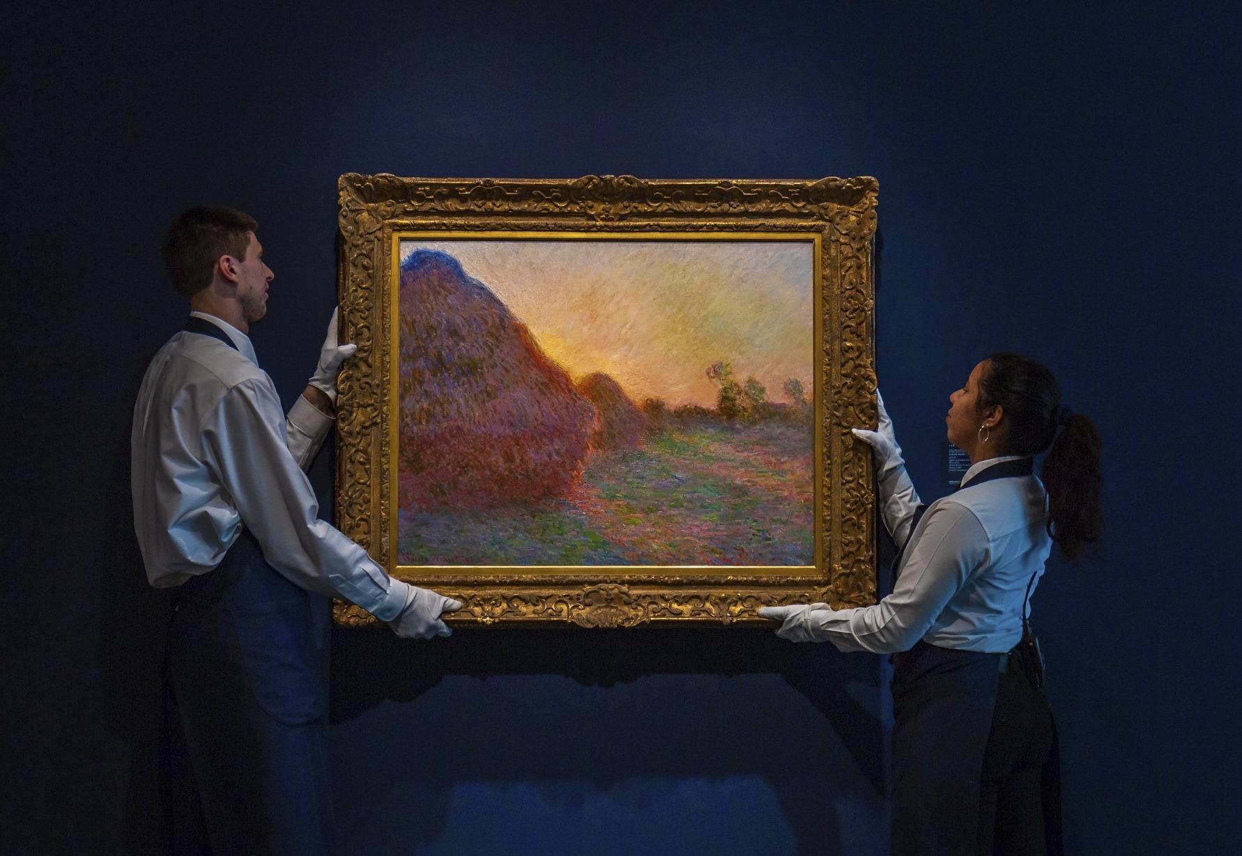 Cuadro de Monet recauda 110,7 millones en Nueva York