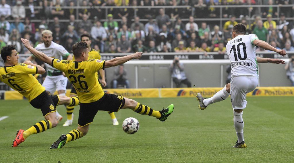 Dortmund ficha a los volantes Thorgan Hazard y Julian Brandt