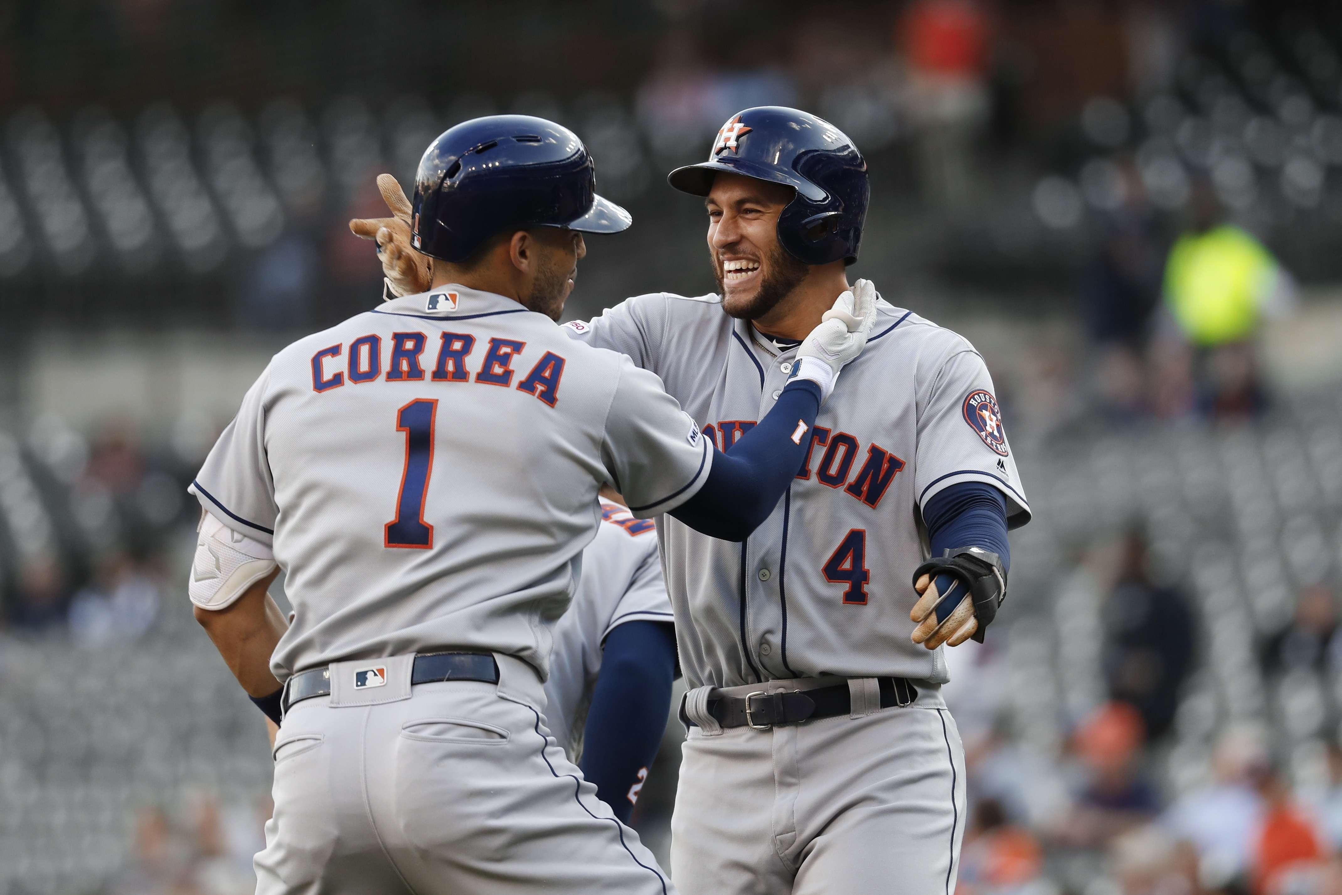 Astros aplastan a Tigres e hilan 7mo triunfo