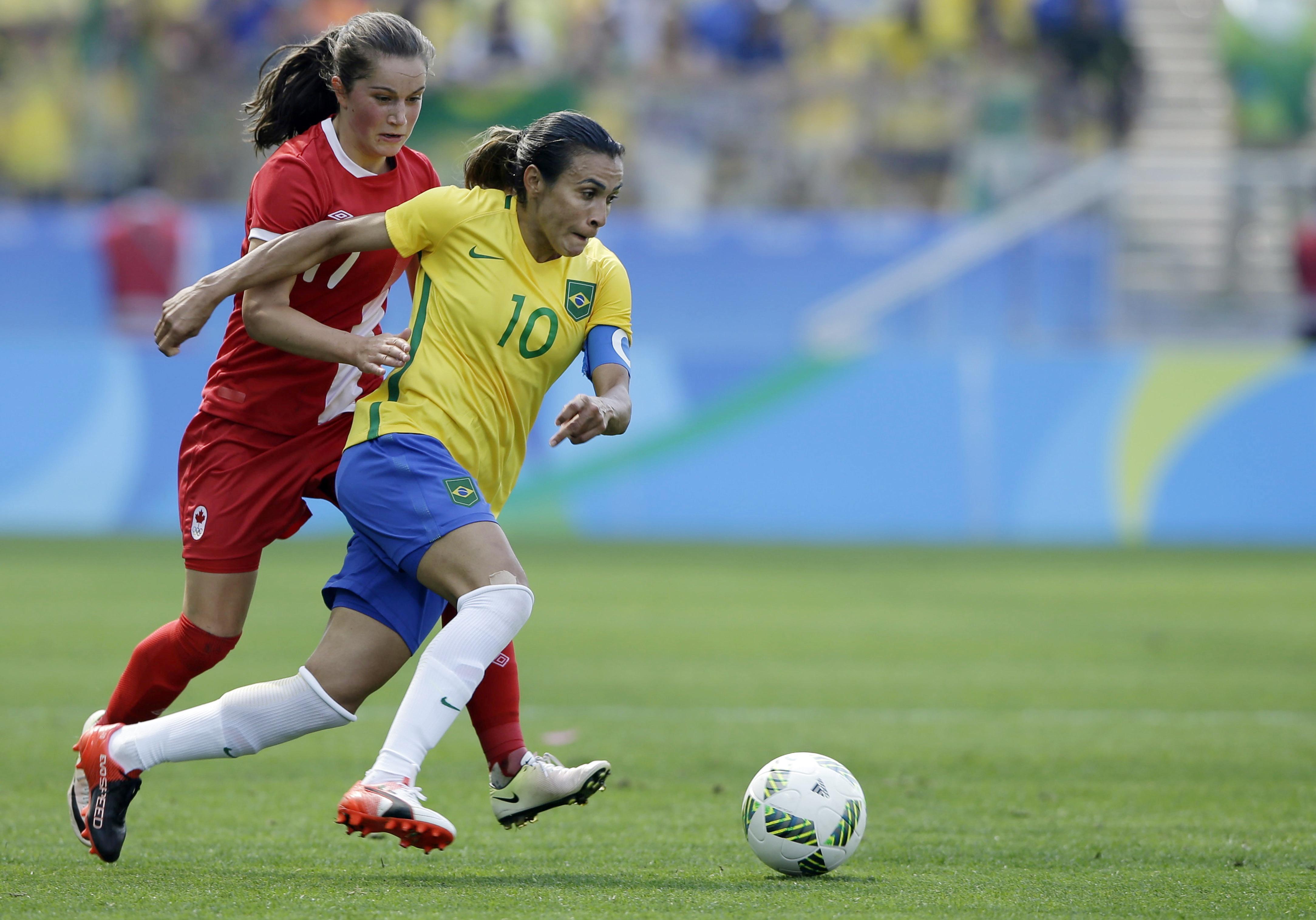 Marta y Formiga lideran a Brasil en Mundial femenino