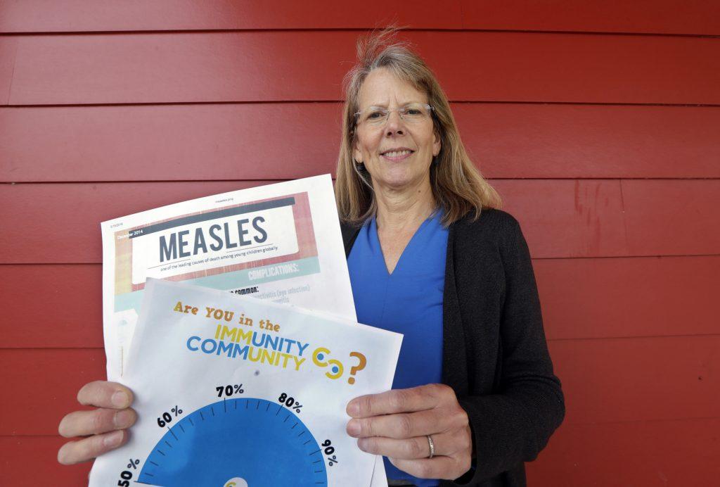 """Sube tasa de vacunación en isla """"hippie"""" cerca de Seattle"""