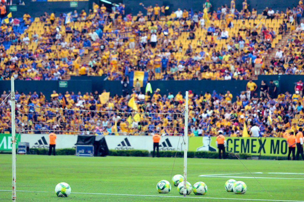 Aficionados de Tigres despiden a su equipo