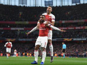 Arsenal se llevó la ida por marcador de 3-1
