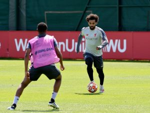 Salah quiere revancha en la Champions League