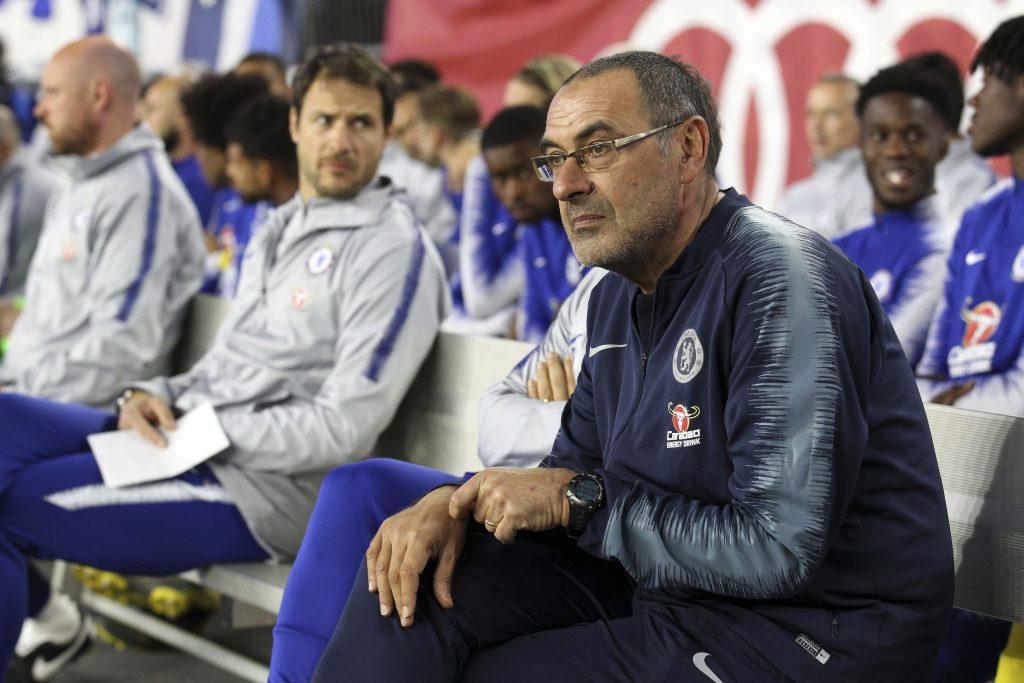 Sarri analizará futuro con Chelsea tras final de Liga Europa