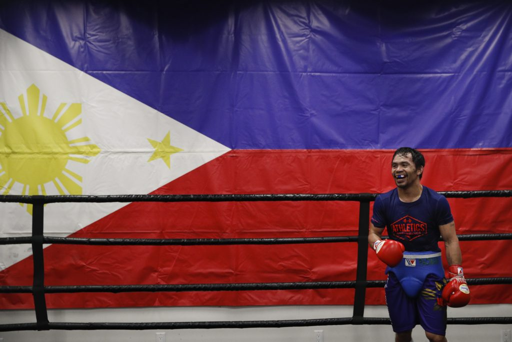 Pacquiao regresa al ring para enfrentar al invicto Thurman