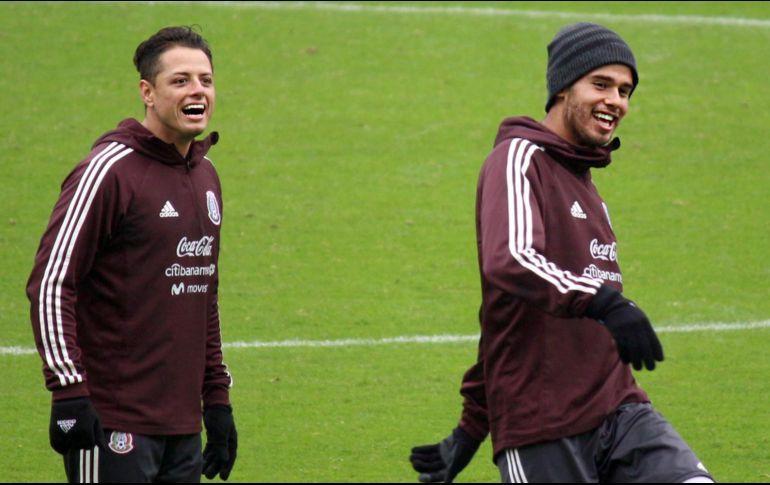 Es un orgullo jugar para la selección mexicana de futbol.