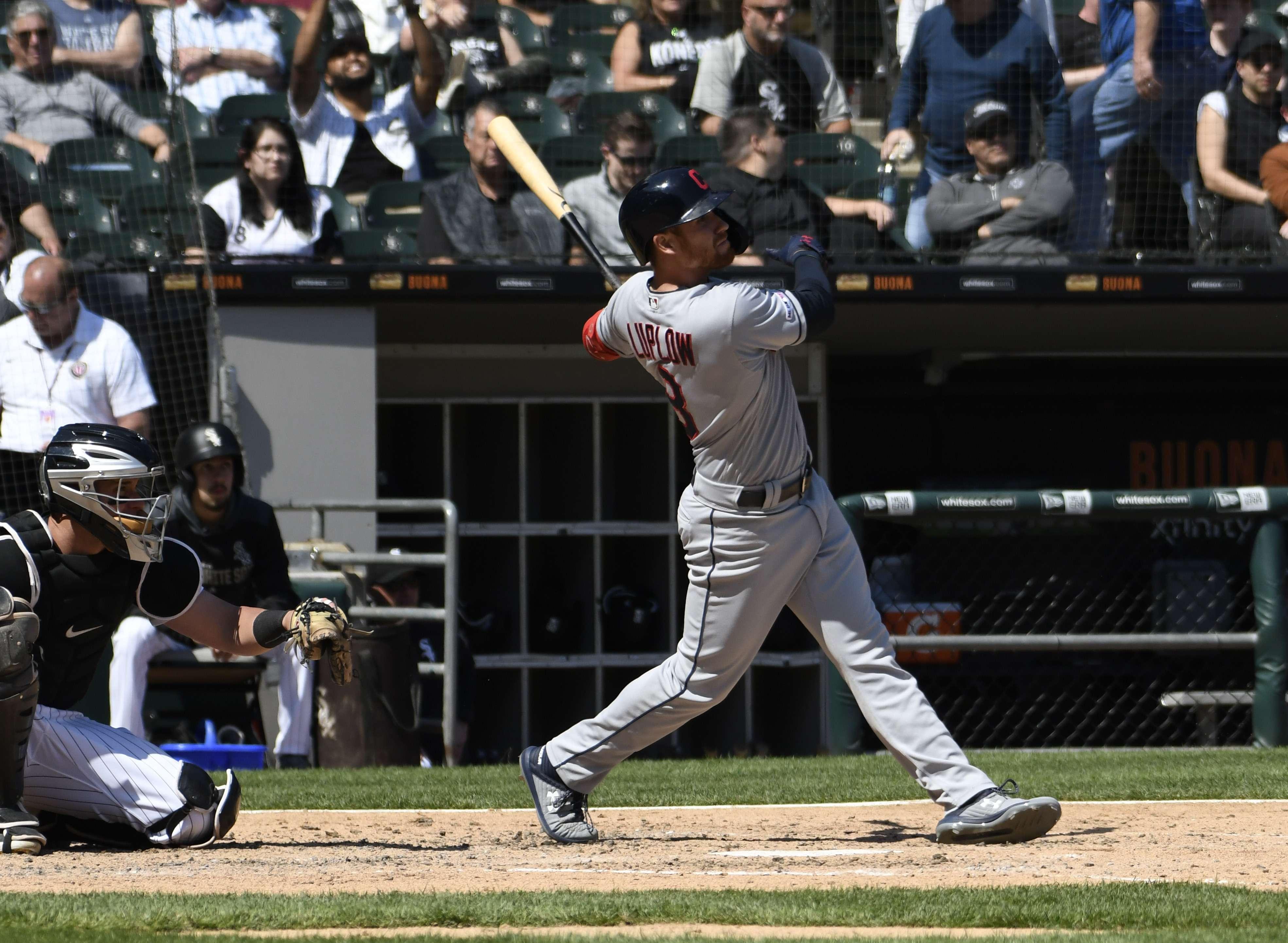 Luplow logra 2 de 5 jonrones de Indios, que vencen a Chicago