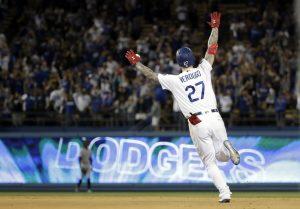 Verdugo batea jonrón en la 11ma; Dodgers superan a Rockies