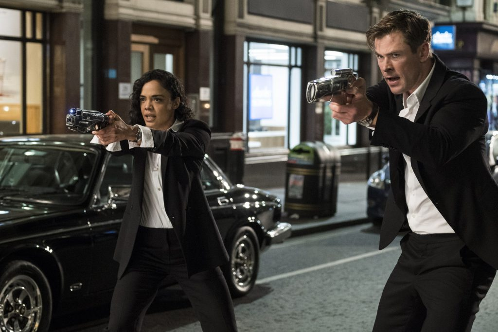 """Nueva entrega de """"'Men in Black"""" encabeza taquillas en EEUU"""