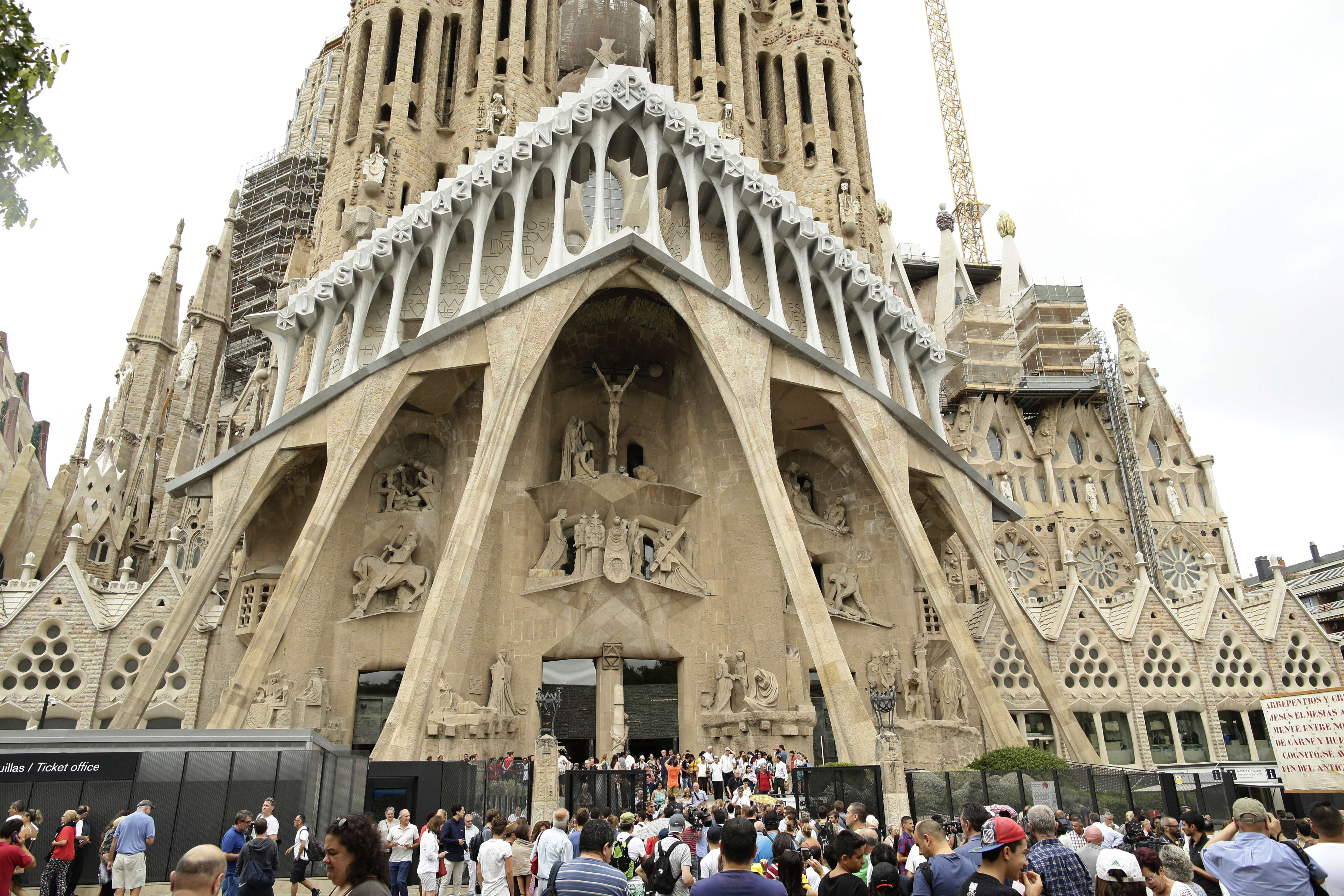 La Sagrada Familia de Barcelona obtiene permiso de obras