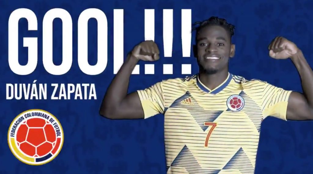 Colombia vence 1-0 a Catar en el último minuto